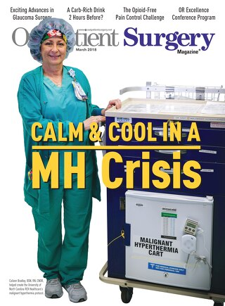 Calm & Cool in a MH Crisis - Outpatient Surgery Magazine - March 2018