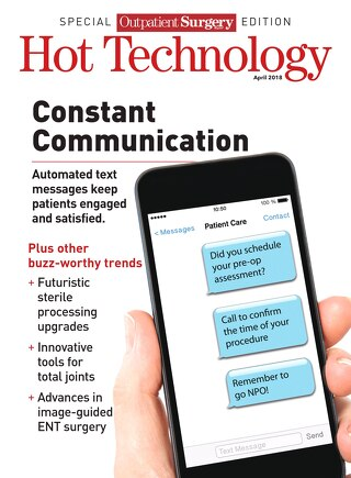 Hot Technology Supplement - April 2018