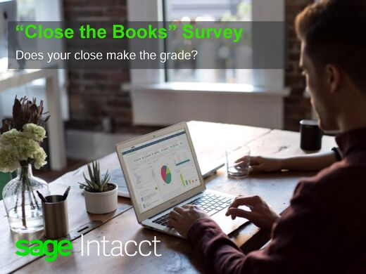 Close the Books Survey Results - Does Your Close Make The Grade?
