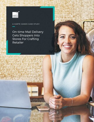 On-time Mail Delivery Gets Shoppers Into Stores for Crafting Retailer