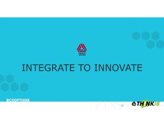Integrate to Innovate by Todd Clark: THINK 18 Keynote