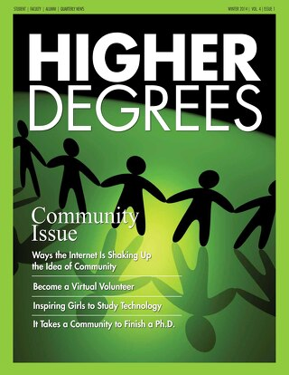 Higher Degrees - Winter 2014