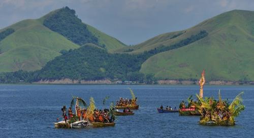Epic Lake Sentani festival, another good reason to visit Papua.