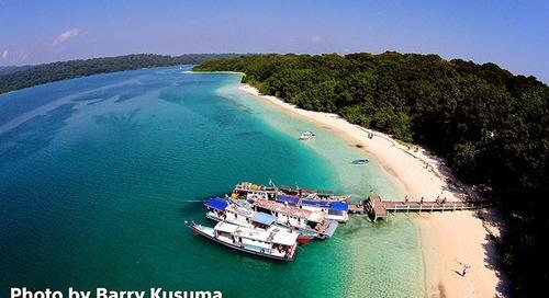 Pulau Peucang, Wisata Pantai & Hutan di Ujung Barat Pulau Jawa.