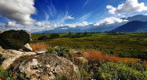 Lembah Baliem Wamena, Kepingan Surga dari Bumi Papua Mahakarya Indonesia.
