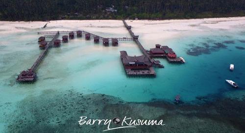 Maratua, Eksotisme Pulau Terluar Indonesia di Kalimantan.