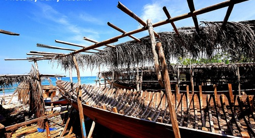 Kapal Phinisi Mahakarya Indonesia. #Terios7Wonders