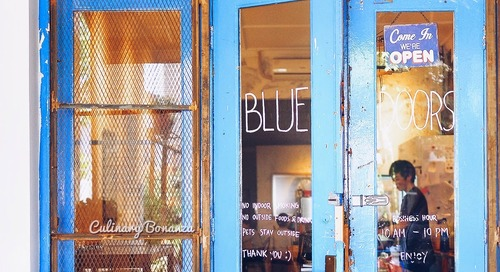 #HipsterTravels: Blue Doors Coffee, Bandung