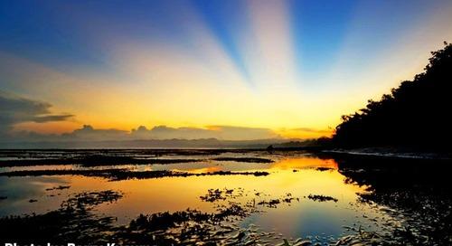 Gland Plengkung punya Ombak terbesar kedua setelah Hawaii.