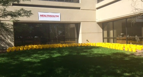 HealthSouth Rehabilitation Hospital of Colorado Springs Completes the Ice Bucket Challenge