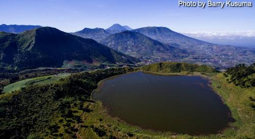 Dringo Telaga terindah di Pulau Jawa.