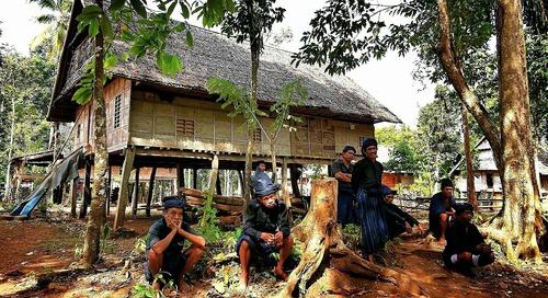 Suku Kajang yang masih memegang teguh tradisi nenek moyang. #Terios7Wonders