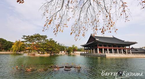 Gyeongbokgung Istana terindah di Korea.
