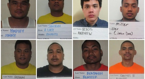 Several arrested in connection to a murder at Hagatna Detention Facility last December