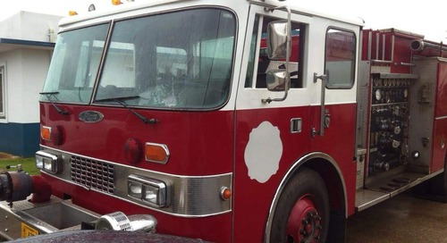 Yona Fire Station painted after being vandalized