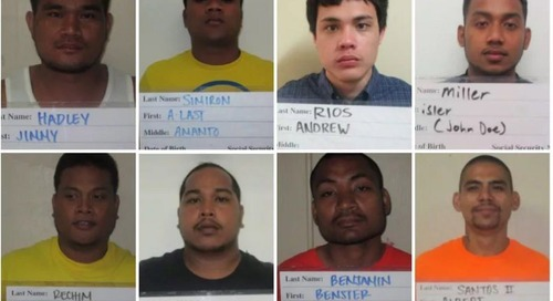 $250K bail set for detainees charged with prison murder