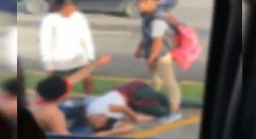 Injured JFK student in viral video was apparently intoxicated