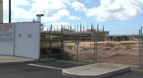 Center to care for island veterans finally being built