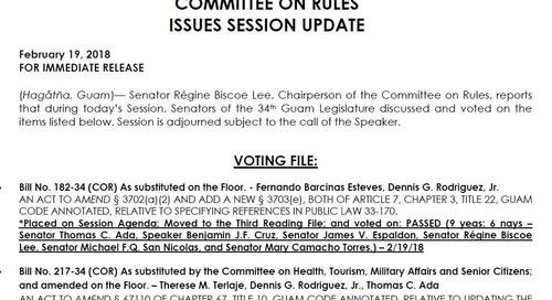 Senators Override Bills Vetoed by the Governor