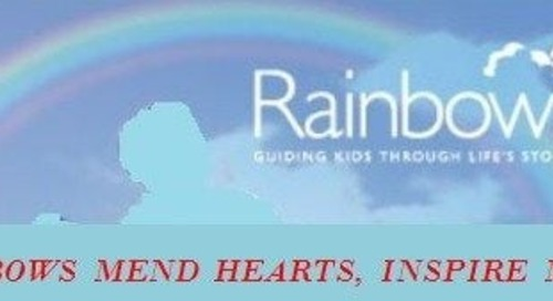 Rainbows helps kids cope with traumatic loss