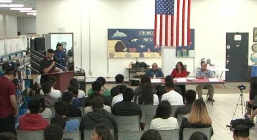 Northern youths ask lieutenant governor candidates tough questions