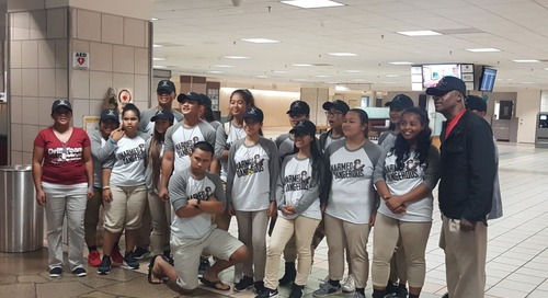 Okkodo High ROTC teams return after top-10 finish in competition