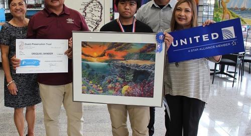 Sanchez senior's artwork will be on display in nation's capital
