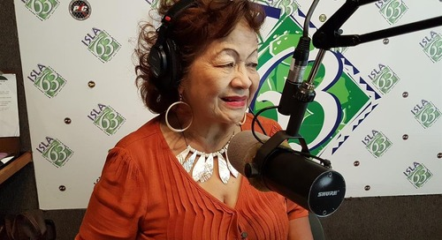 """PODCAST: Helen """"Island Girl"""" Aguon on Chamorro music, life, and moving on"""