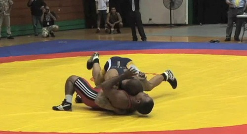 United World Wrestling Oceania Championship this weekend