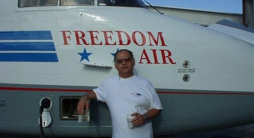 Freedom Air owner passes away