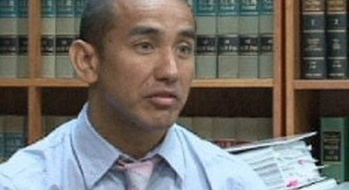 Leevin Camacho running for attorney general