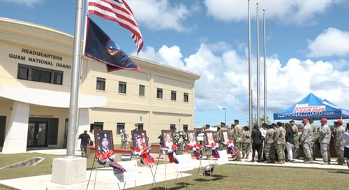 Guam National Guard honors those who made the ultimate sacrifice