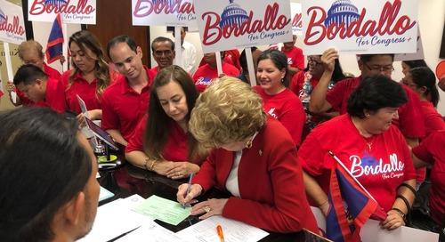 Bordallo officially files for reelection to Congress
