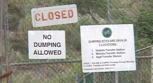 Another delay discovered in transfer of trash system back to GovGuam