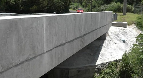 Two lanes opened to cross Merizo bridges