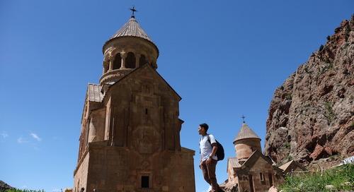 Wisata Monastery di Armenia