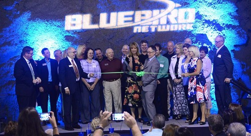 Underground Party: Visitors Astounded by Bluebird's Expanded Data Center