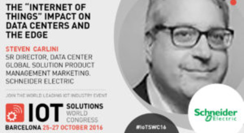Schneider Electric is in the focus at IoT World Congress in Barcelona