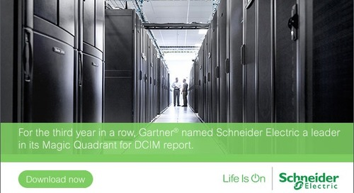 When it Comes to DCIM, Three is a Magic Number for StruxureWare for Data Centers