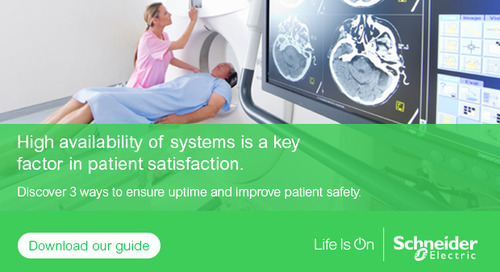 No Room for Risk: A Sound Business Continuity Plan Is a Must for Healthcare Facilities