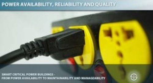 Critical power availability and reliability in Industry 4.0