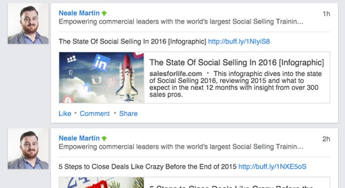 How To Book A Meeting With A Fortune 50 Company With Strictly Social Selling