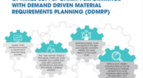 [INFOGRAPHIC] Optimize Supply Chain Performance with Demand Driven Material Requirements Planning (DDMRP)