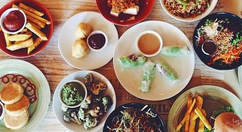 Vegan friendly food in South Bali