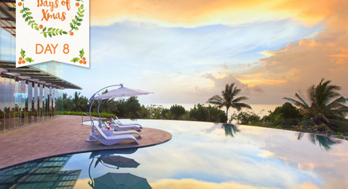 Day 8: 12+ Days of Christmas in Bali:  WIN a stay at The Sheraton!