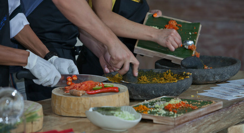 Things to do in Bali: Take Part in a Bali Cooking Class at this Fabulous Hotel in Seminyak