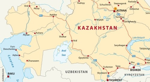 Kazakh government signals ambition to desalinate water from Caspian Sea