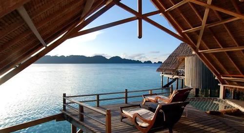 13 Water Villa Cantik Yang HARUS Kamu Datangi di Tahun 2017