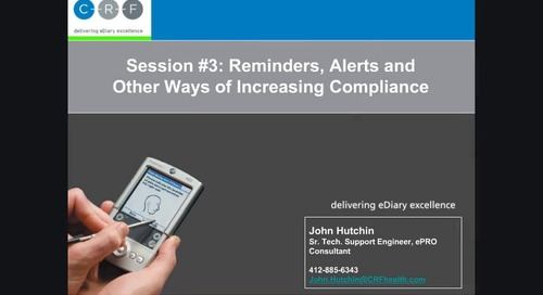 Reminders, Alerts and Other Ways of Increasing Compliance