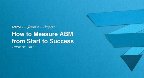 How to Measure ABM from Start to Success   Engagio